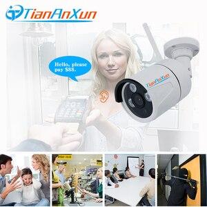 Image 2 - Tiananxun caméra de Surveillance extérieure IP wifi/1080P/720P, dispositif de sécurité domestique sans fil, avec enregistrement Audio et SD