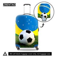 Dropshipping High Quality Soccer Printing Waterproof S/M/L/XL Holiday Accessories Suitcase Protective Covers For 18 32Inch Case