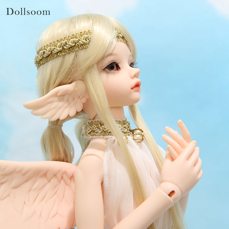 Little GemTuff & Sueve Messenger of Heaven BJD SD Doll 1/4 Body Model Fantasy Angel with WingsLittle GemTuff & Sueve Messenger of Heaven BJD SD Doll 1/4 Body Model Fantasy Angel with Wings
