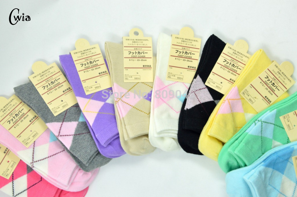 Warm Comfortable Cotton Bamboo Fiber Girl Women's Socks Ankle Low Female Invisible  Color Girl Boy Hosier 1pair=2pcs WS12