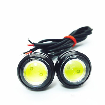1 Uds luces LED de coche 23MM ojos de águila deng Delgado liu mang deng tornillo de lucha de marcha atrás luces de la barra de la motocicleta tipo equilibrio del coche