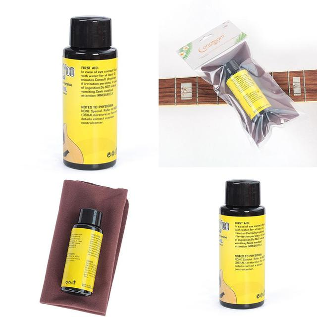 Guitar Fingerboard Lemon Oil and Cleaning Cloth