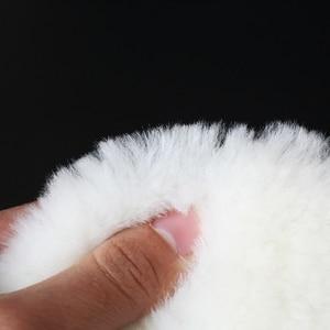 Image 4 - Tampons de polissage en laine pour polisseuse, 1 pièce, pour Machine à polir, cire et peinture de voiture, soins pour polisseuse de voiture 4/5/6/7 pouces