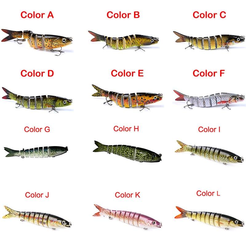 1PCS 3D eyes Lifelike fishing font b hard b font Lure