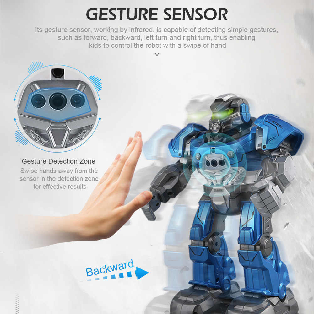 JJR/C R5 шелк-кади WILI умных робот программируемый автоматический танцевальной музыки RC робот часы следовать жест Сенсор RC игрушки подарок