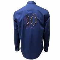 High Quality Shirt Luxury France Brand Shirt Fashion Men Clothes Long Sleeve Cotton Casual Ralp Eden Park Male Shirts 185