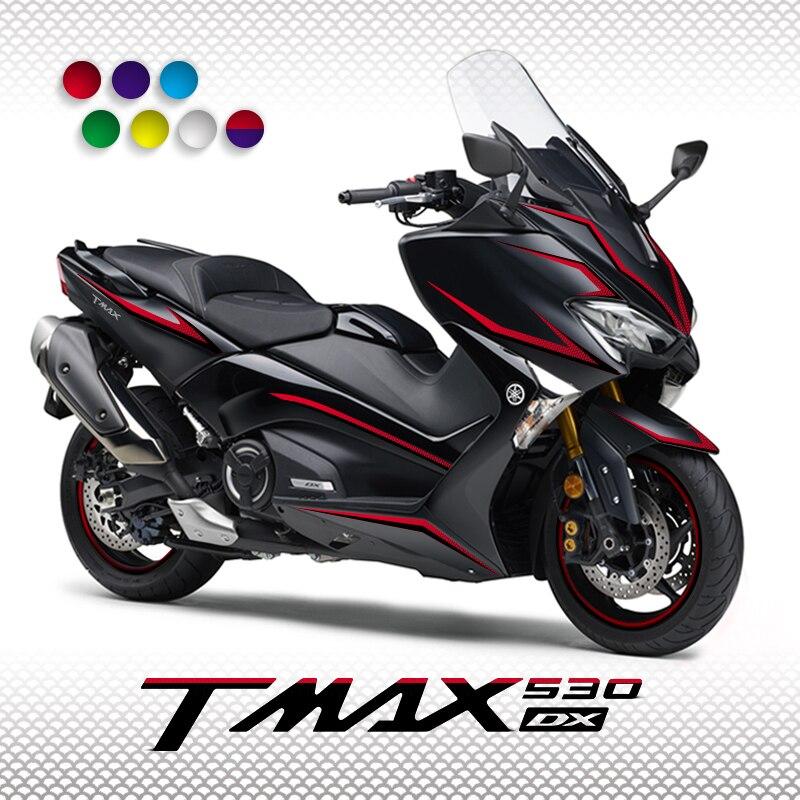 KODASKIN Motorcycle For TMAX530 /DX/SX 2017 2D Fairing Emblem Sticker Decal