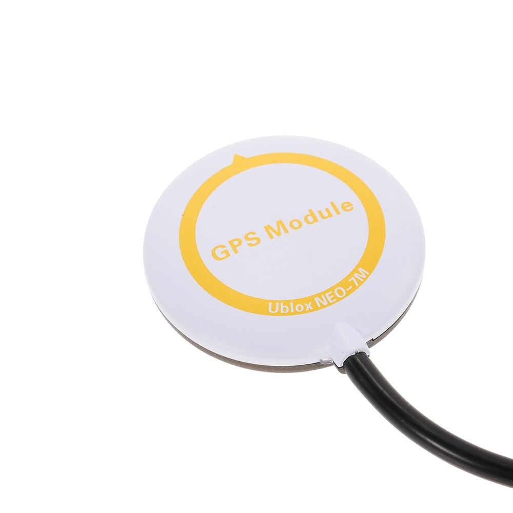 Mini Ublox NEO-7M módulo GPS Shell para CC3D Naze32 F3 FC de Control de vuelo RC FPV Racing Quadcopter GPS soporte kit