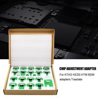 22pcs For KTAG KESS KTM BDM Adapters Trasdata Chip Adjustment Adapter BDM Frame ECU RAMP Adaptor