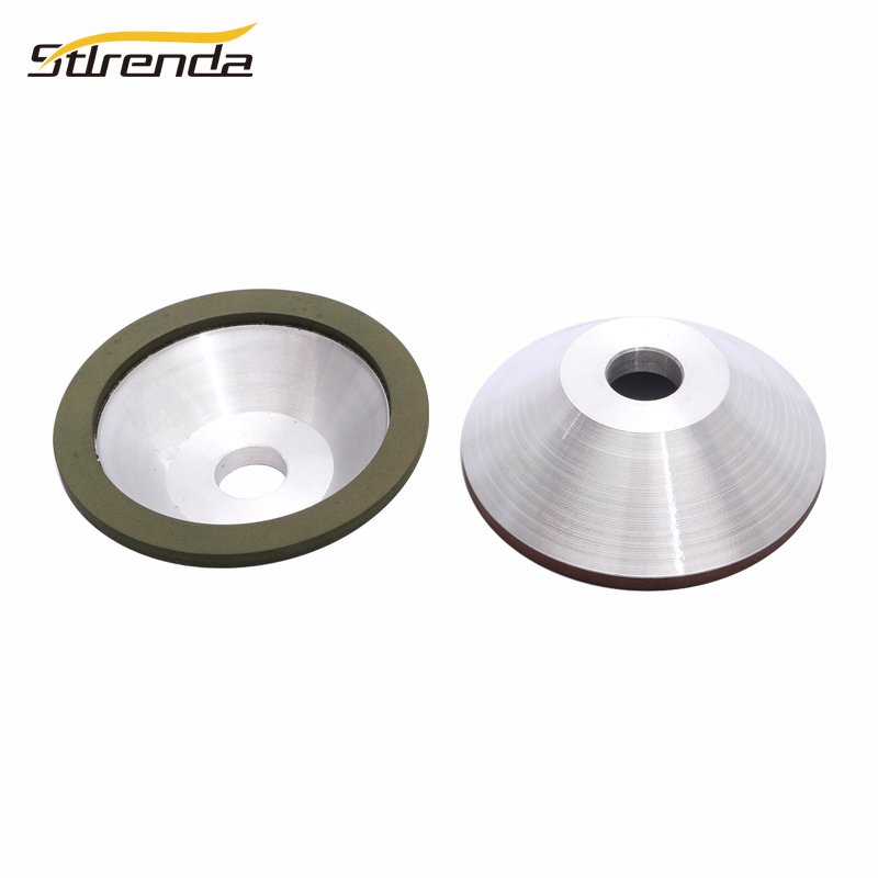STLRENDA Diamond Grinding Wheel 100mm Hole 20mm 100/150/200/320/600/800/1000/1200 Grit Sharpener Grinder Accessories For Carbide