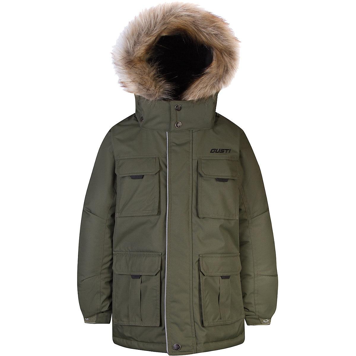 Gusti para baixo & parkas 9511948 jaqueta para meninas inverno outerwear crianças jaquetas meninos roupas mtpromo