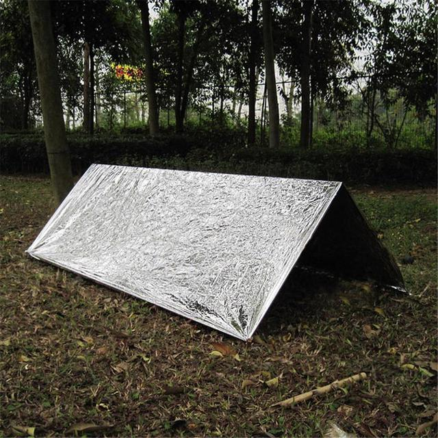 Emergency Shelter Outdoor Beach Tent First Aid Tent Wild Self-rescue Insulation Earthquake Survival Camping Sonnensegel Tents