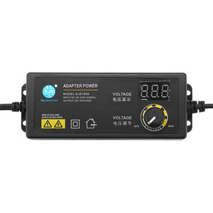 Image 3 - CLAITE KJS 1509 3 12V 5A Power Adapter AC/DC Adapter Adjustable Voltage Adapter LED Display Switching Power Supply