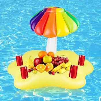 Floating Bar Tray Swimming Pool Inflatable Bracket