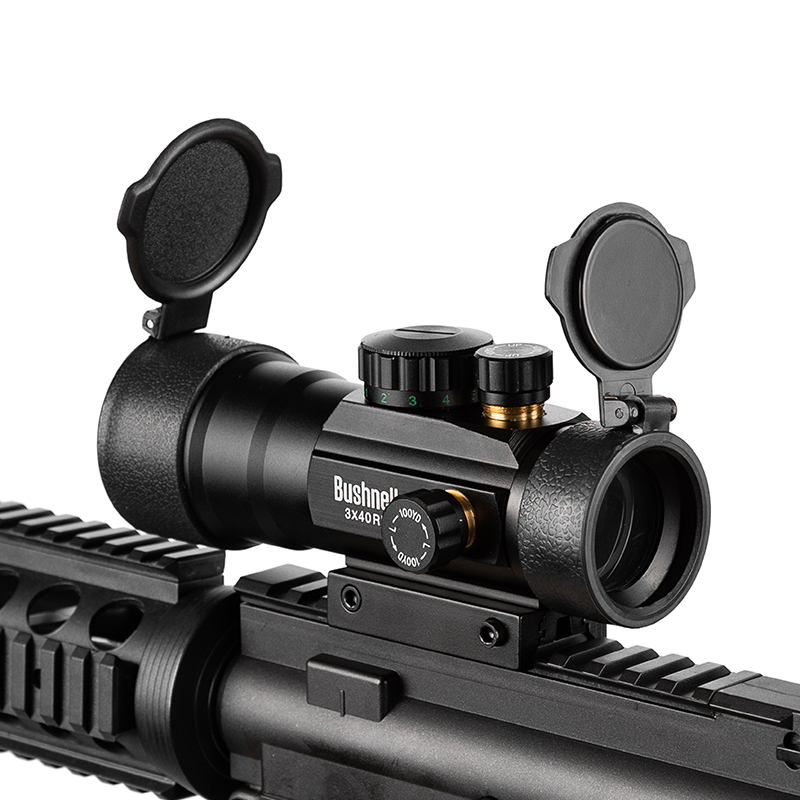 3x40 Vert Red Dot Sight Portée Tactique Optique Lunette Fit Picatinny Rail Mount 20mm 11mm Fusil scopes Pour La Chasse