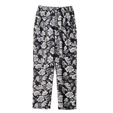Spring Summer Plus Size XL-4XL Trousers Middle Aged Women Casual High Waist Floral Print Straight Pants Pantalon Femme spring summer middle aged women pants elegant high waist solid color pant casual straight trousers pantalon femme plus size 4xl