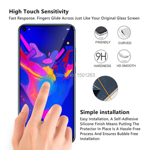 Image 3 - 9H Full Cover Tempered Glass For Huawei Honor 8A 8C 8X 7A Pro 7C 10 10i Play View 20 P Smart Y7 Y6 2019 Screen Protector Glass
