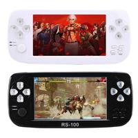 RS 100 Handheld 4.3inch Game Console Game Player with Video 2MP Camera for SFC CP1 CP2 NEOGEO GBA MD FC