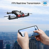 SYMA Z1 Foldable Mini Quadrocopter with Camera HD 720P FPV Real Time Transmission RC Helicopter App Control Pocket Quadcopter