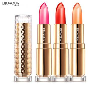 BIOAQUA moisture charm color waterproof jelly lipstick long Lasting moisturizing lip gloss not fade lip care lips makeup beauty