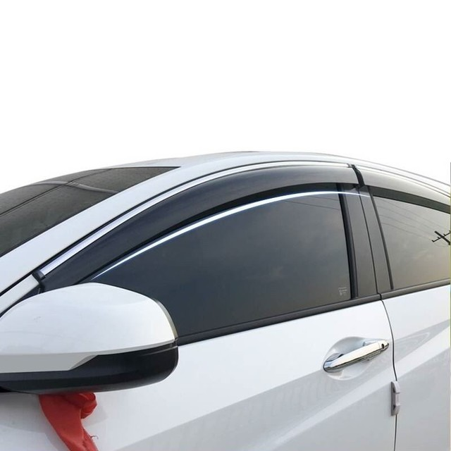 Parts Car Window Visor Anti Rain Awnings Shelters FOR Honda Accord Avancier City Civic Crider CRV Fit Greiz Jade URV Vezel XR-V