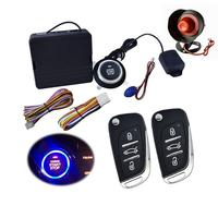 9PCS Car SUV Keyless Entry Engine Start Alarm System Push Button Remote Starter Stop Auto car alarm