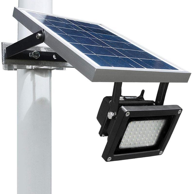 54 LED Solar Spotlight Adjustable Lighting Angle Outdoor Garden Wall Yard Light Control Safety Lamp