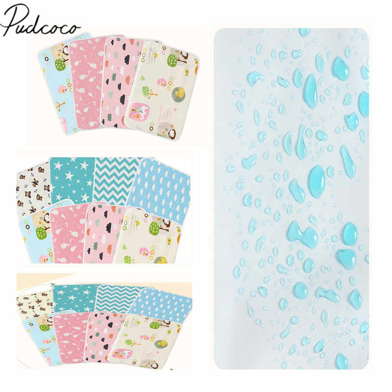 2019 Brand New Baby Waterproof Mattress Sheet Protector Diapering Cartoon Changing Pads For Bed Travel Baby Diapers Crib Sheet