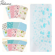 2019 Brand New Baby Waterproof Mattress Sheet Protector Diapering Cartoon Changing Pads For Bed Travel Baby Diapers Crib Sheet(China)