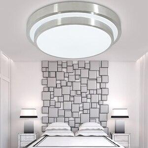 Image 1 - 12 W LED ضوء السقف لمبة عصرية غرفة المعيشة المطبخ الإضاءة سطح جبل دافق لوحة الأبيض/الدافئة أبيض/للتغيير تركيبات