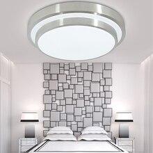 Iluminação moderna de teto de 12w, lâmpada led para sala de estar, para iluminação de cozinha, painel nivelado branco/quente/branco fixação alterável