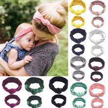 2PCS Mother & Daughter Headwear Kid Girl Baby Toddler Bow He