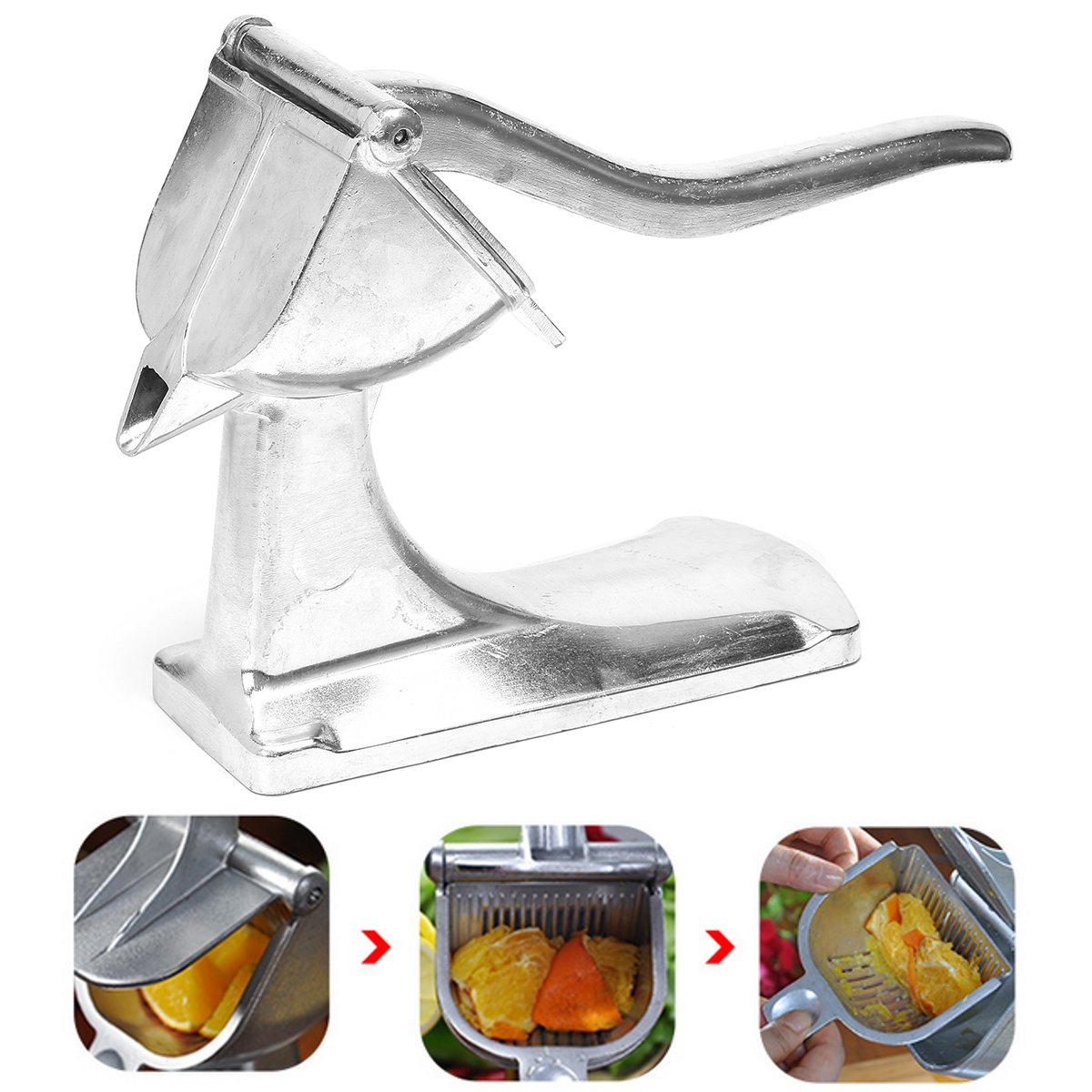 Heavy Duty Mini Fruit Press Household Press Lemon Orange Lime Citrus Fresh Drink Kitchen Tool Home Squeezer Machine