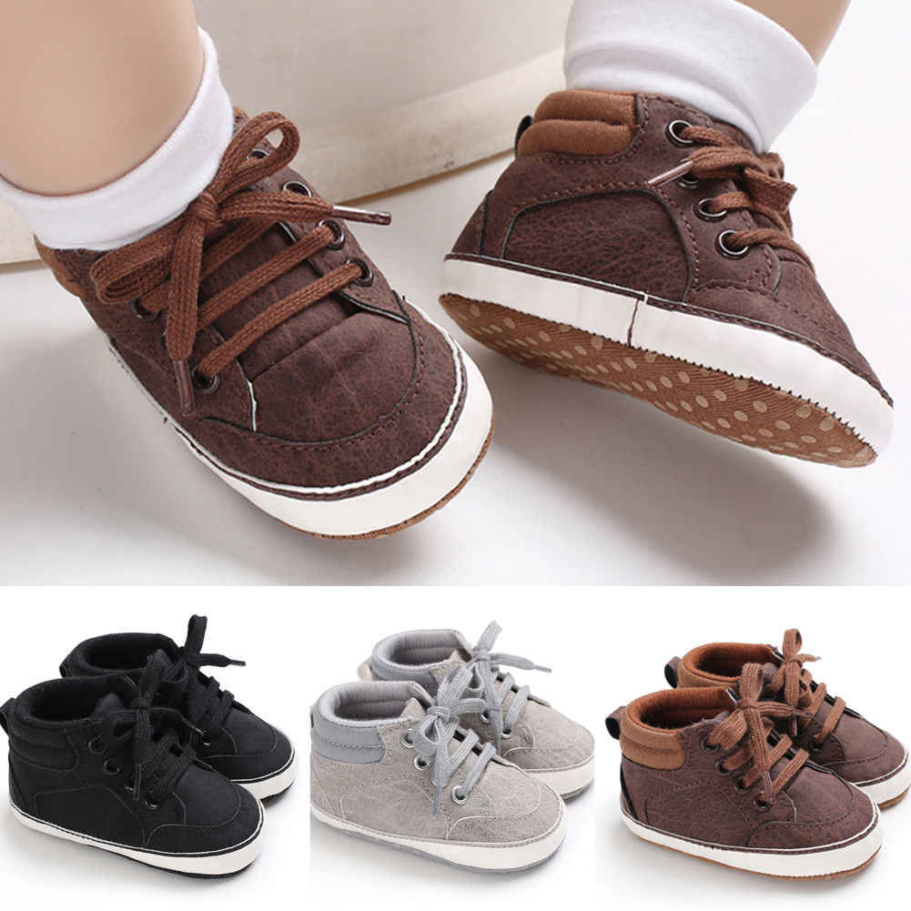 Pudcoco Infant Baby Girl Shoes Newborn Soft Sole Sneaker Casual Shoes For 0-18month