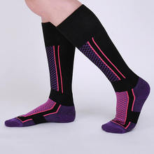 Sport Stockings Ski-Socks Outdoor Camping Leg-Warmers Winter Cotton Women Snow
