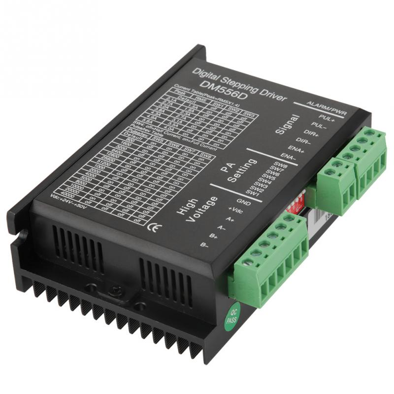 Hot DM556D 48V DC 1KW 20 KHz Two phase High Power Stepper Motor Driver for CNC Router Milling functional-in Motor Driver from Home Improvement    1