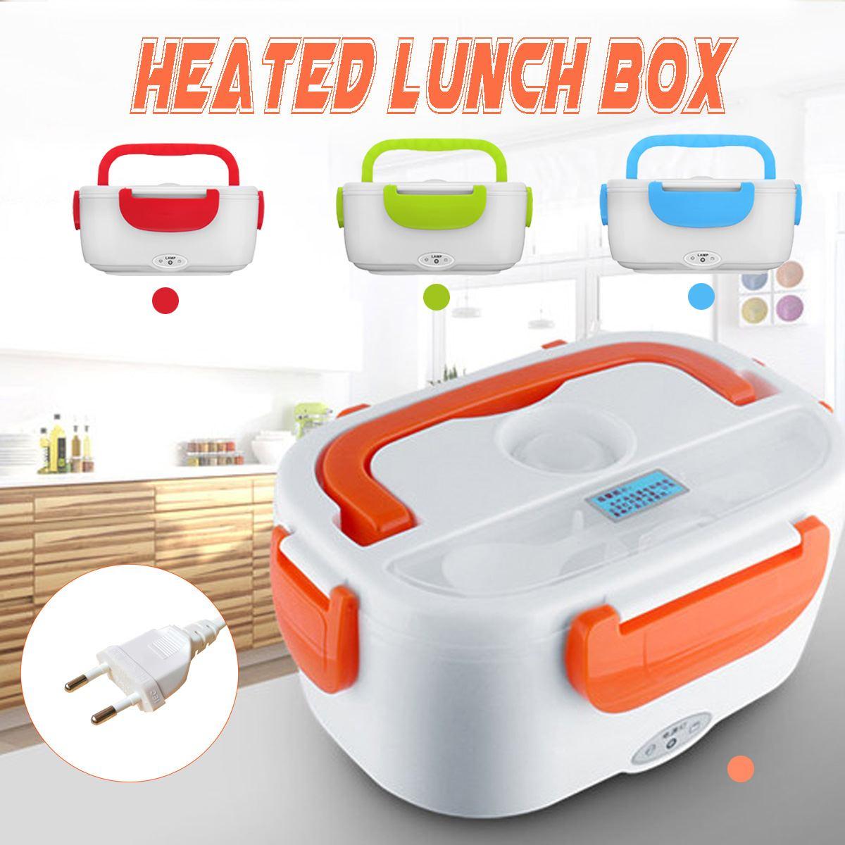 220 V Portabel Pemanas Listrik Kotak Makan Siang Makanan Kelas Bento Kotak Penyimpanan Rumah Kantor Sekolah Beras Wadah Makanan Hangat