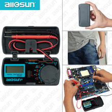 all sun all-sun EM3081 EM3082 EM3085A Digital Multimeter 3 1/2 1999 AC/DC Ammeter Voltmeter Ohm Portable Meter voltage meter