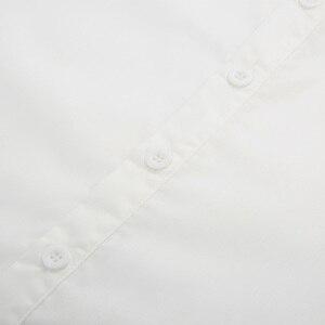Image 5 - Мужская блузка в стиле ретро, Готический стимпанк, свадебные вечерние Клубные костюмы, средневековая рубашка с длинным рукавом и воротником стойкой