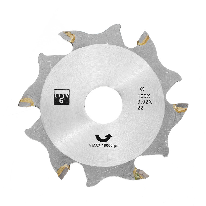 1Pcs Sliver 100mm Circular Saw Blade For Biscuit Jointer Woodworking Saw Blade For Cutting Wood And Metal Tool Accessories