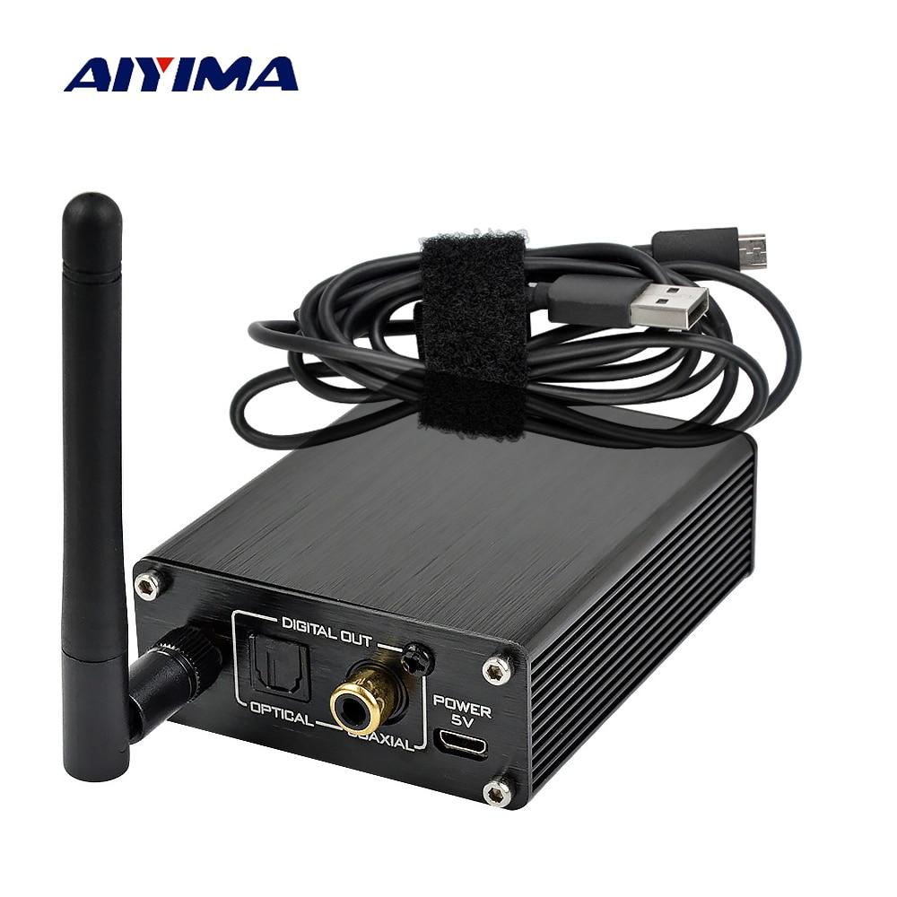 Récepteur Bluetooth AIYIMA 5.0 récepteur Audio sans fil APTX HD prise en charge de l'émetteur sortie numérique coaxiale en Fiber BTS2 CSR8670
