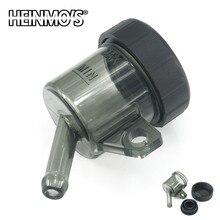 Universal Brake Fluid Reservoir for kawasaki Oil Cap Front Rear Tank Cup Yamaha Suzuki KTM Vespa