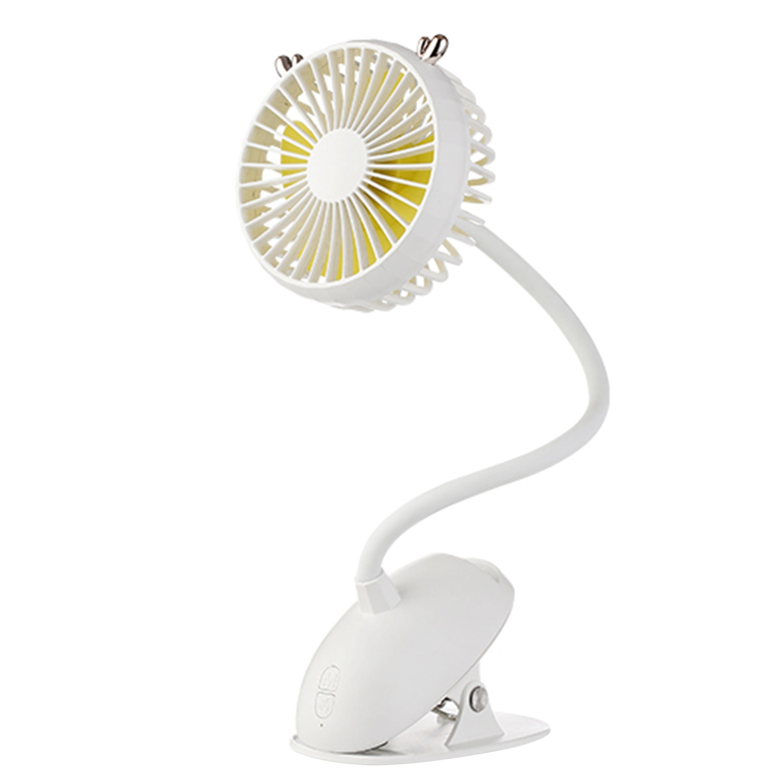 Usb Portable Clip On Stroller Fan, Flexible Bendable Mini