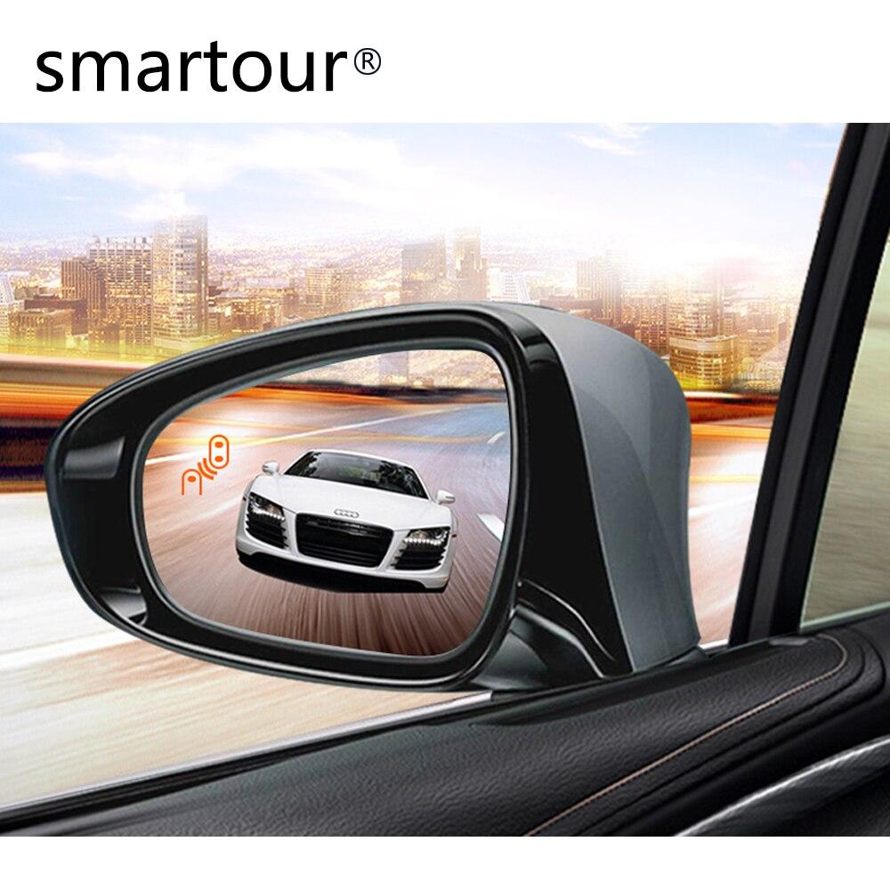 BSM Smartour BSD microondas ondas milimétricas radar invertendo monitoramento de ponto cego e linha de ponto cego auxiliar para Honda Accord Fit