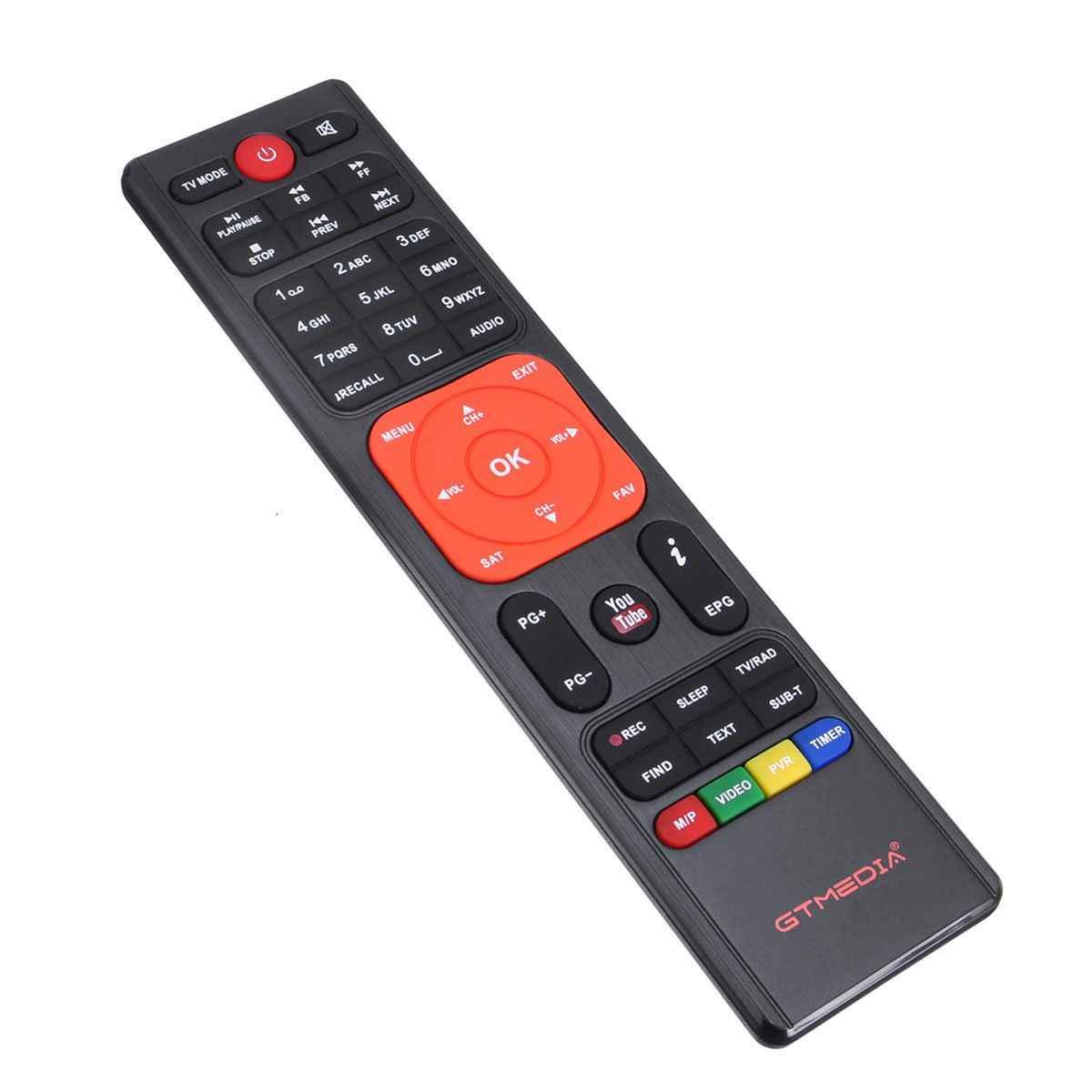 GTMEDIA V7 плюс DVB-S2 спутниковый DVB-T2 наземного ТВ комбинированный приемник Поддержка H.265 испанский итальянский