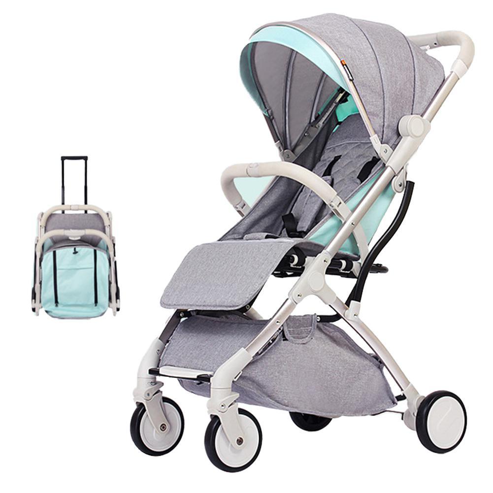 Kidlove nouveau Portable Mini parapluie pliant forme assise poussette légère 2 en 1 landaus pliants pour enfants chariot de voyage
