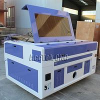 RECI 100W 1390 Laser Engrave Machine CNC Laser Cutter Water Chiller And Rotary USB Interface High Precision for Russian