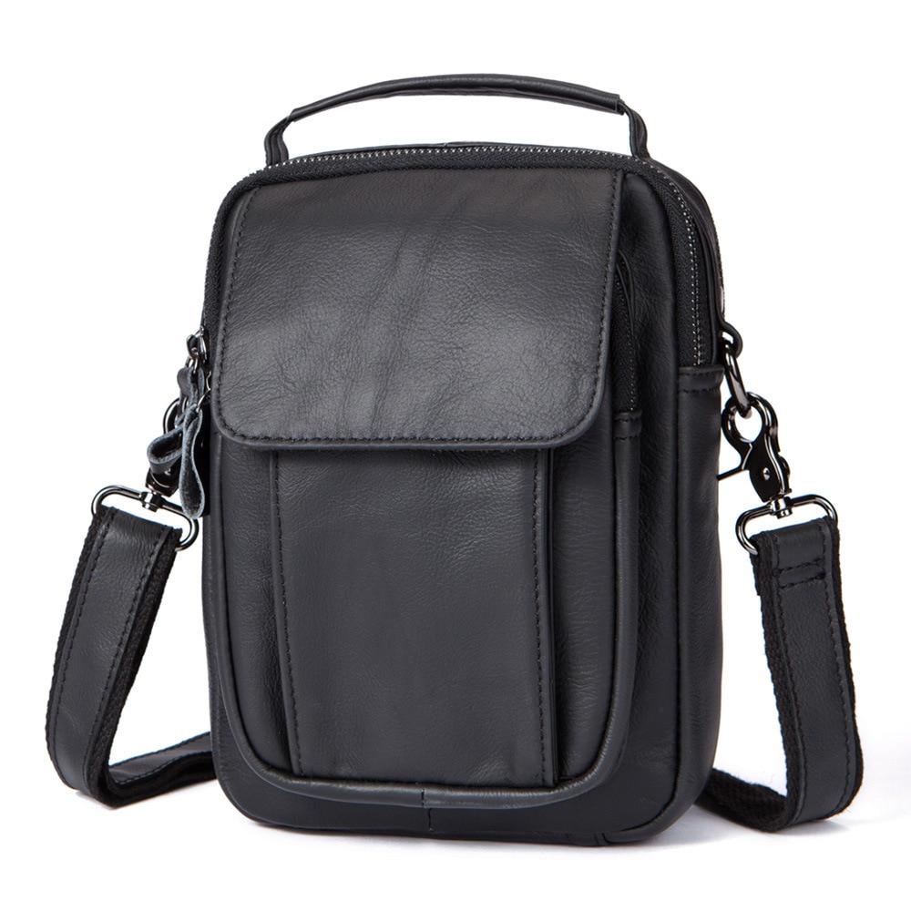 Leather Men's Handbag Genuine Leather Shoulder Bag Crossbody Bags For Men Satchel Man Shoulder Bolso Hombre Sc A Main Cartable