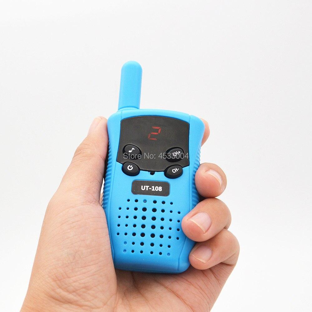 Image 3 - 2PCS GoodTalkie UT108 Kids Walkie Talkie Toy Two Way Radio Handheld Kids Toy walkie talkie-in Walkie Talkie from Cellphones & Telecommunications