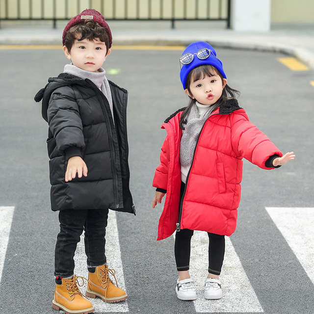cbe4406c5 Baby Boys Outerwear Girls Autumn Winter Coats Kids Thick Warm Hooded ...